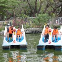 Banana Boat : Great Outdoor Fun at the Quezon City Memorial Circle