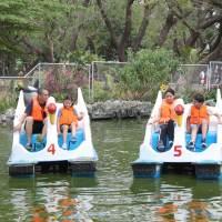 Banana Boat : Great Outdoor Fun at the Quezon City Memorial Circle