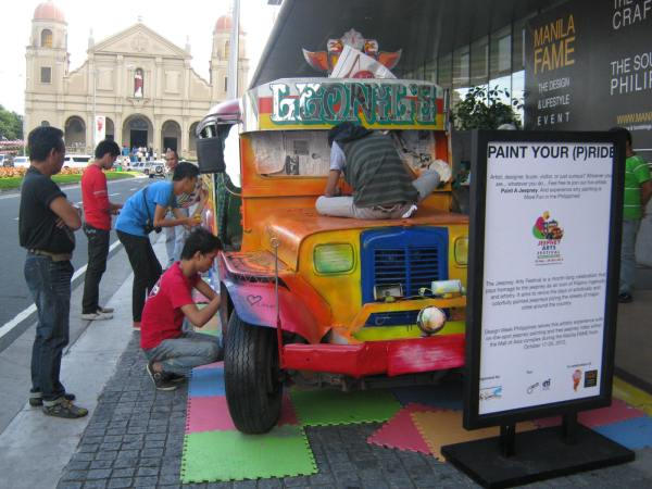 Paint Your (P)ride : The Philippine Jeepney