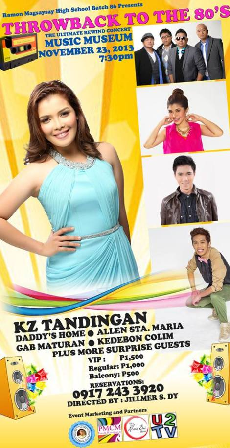 KZ Tandingan Throwback to the 80s