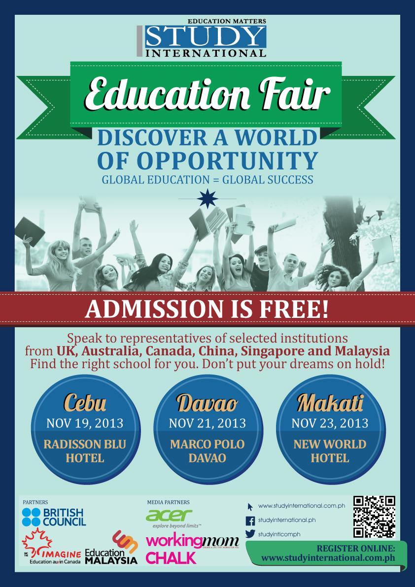 Study International Education Fair 2013 | Jeepney Manila