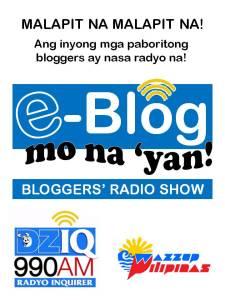 e-Blog mo na yan