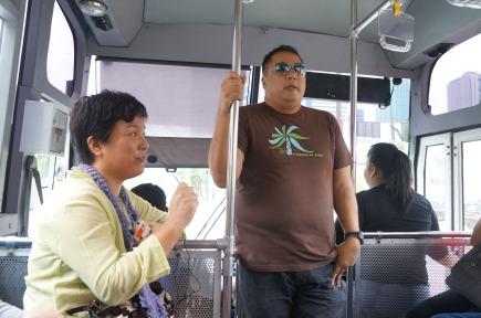 BGC Eats bus tour