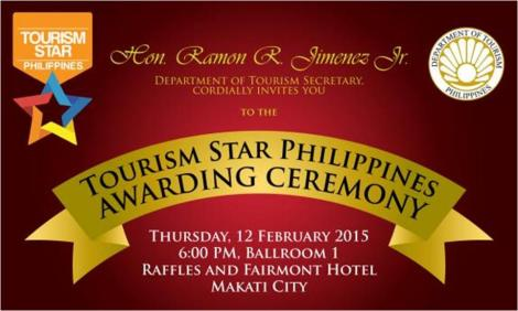 Tourism Star Philippines Awarding