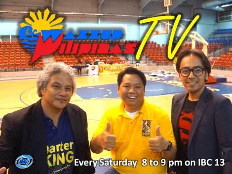 Wazzup Pilipinas TV hosts